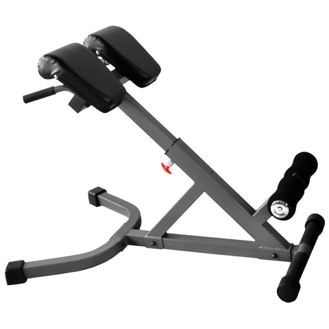 XMark 45 Degree Ab Back Hyperextension Roman Chair XM-4428 - Home Gyms Depot
