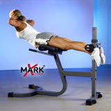 XMark Ab Back Hyperextension Roman Chair XM-4429 - Home Gyms Depot