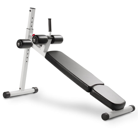 XMark 12 Position Adjustable Ab Bench XM-7608-WHITE - Home Gyms Depot