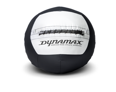 Dynamax Medicine Ball Standard Collection Black/Gray. BONUS - Free Exercise Brochure! - Home Gyms Depot