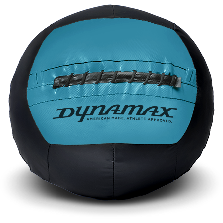 Dynamax Medicine Ball Standard Collection Black/Marine.    BONUS - Free Exercise Brochure! - Home Gyms Depot