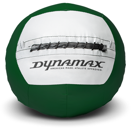 Dynamax Medicine Ball Standard Collection Green/Gray.    BONUS - Free Exercise Brochure! - Home Gyms Depot