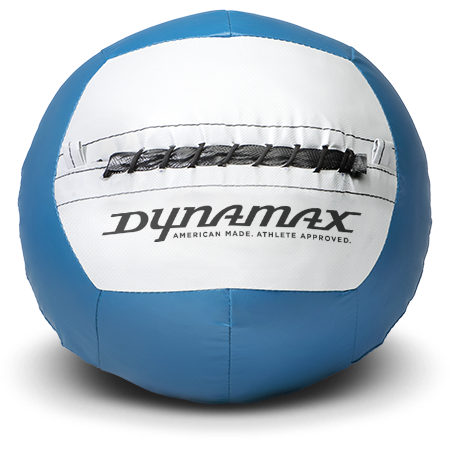 Dynamax Medicine Ball Standard Collection Marine/Gray.    BONUS - Free Exercise Brochure! - Home Gyms Depot