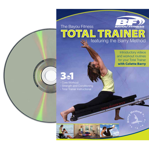 XMark Bayou Fitness Total Trainer DVD Featuring the Barry-Method - Home Gyms Depot