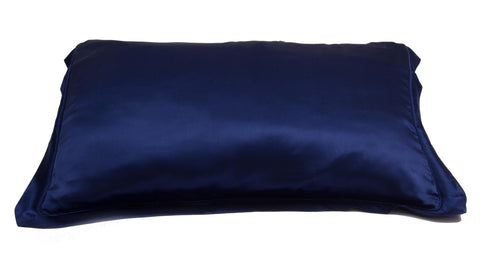 Dame Essentials Midnight Blue Pure Mulberry Silk Pillowcase