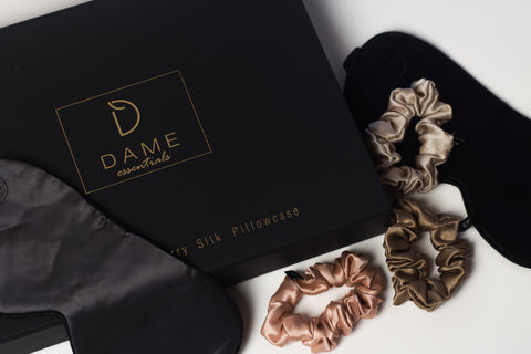 Dame Essentials is India's first Anti-Ageing 100 percent pure Mulberry silk pillowcase