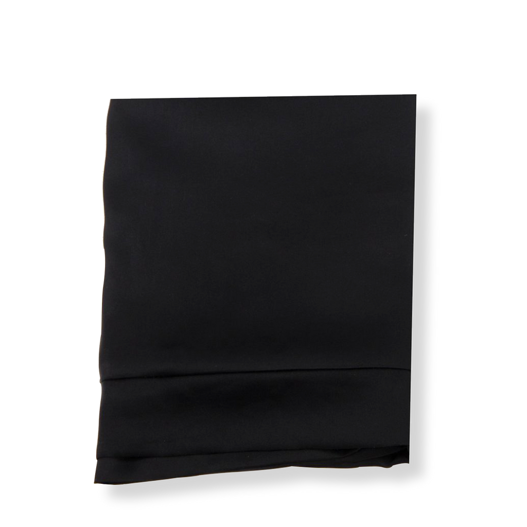 SET OF DAME ESSENTIALS NOIR BLACK PILLOWCASE AND NOIR BLACK EYE MASK