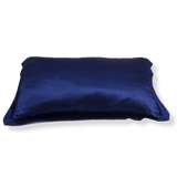 SET OF DAME ESSENTIAL MIDNIGHT BLUE PILLOWCASE AND CHARCOAL GREY EYE MASK
