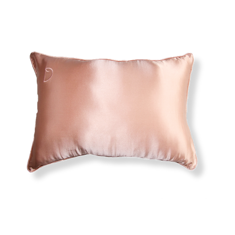 ROSE GOLD TRAVEL PILLOWCASE