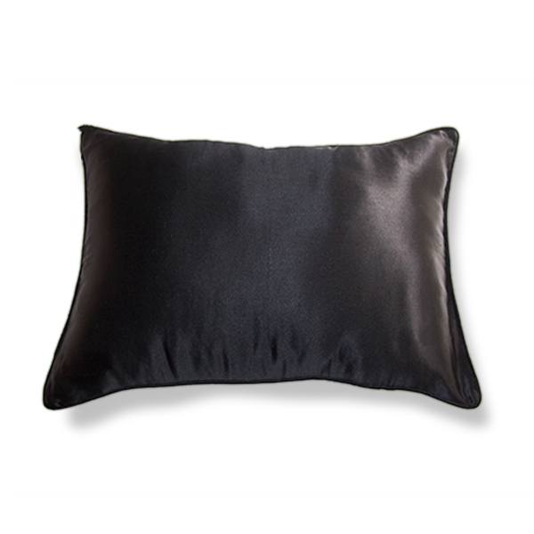 NOIR BLACK TRAVEL PILLOWCASE