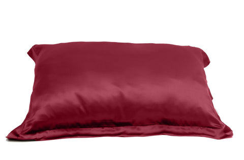 BERRY BURGUNDY PILLOWCASE