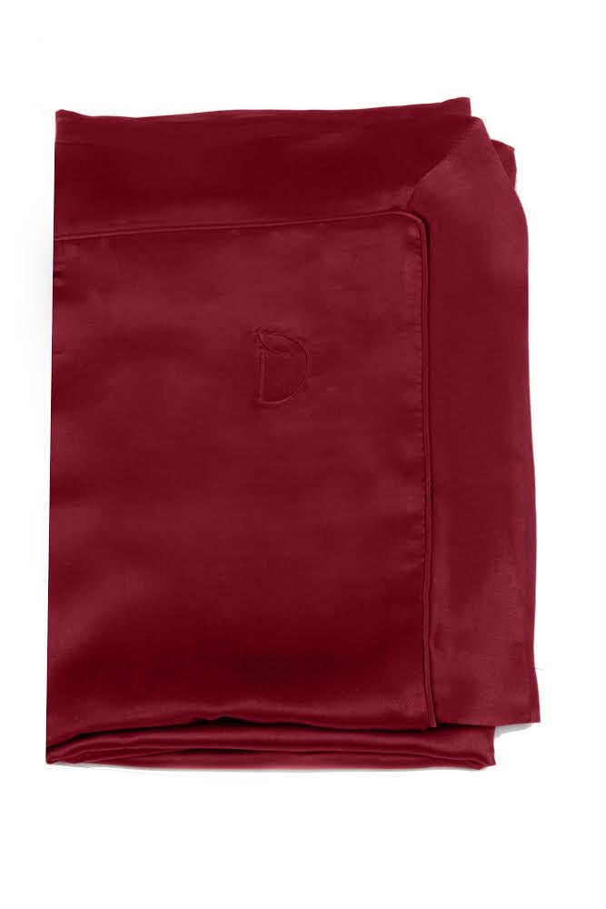 BERRY BURGUNDY SILK BUNDLE