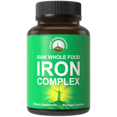 Raw Whole Food Iron Complex