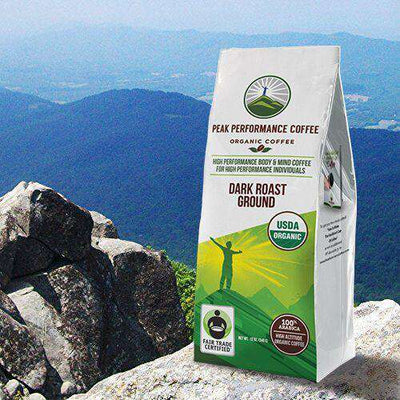 Coffee - Organic High Altitude Coffee (Dark Roast Ground)