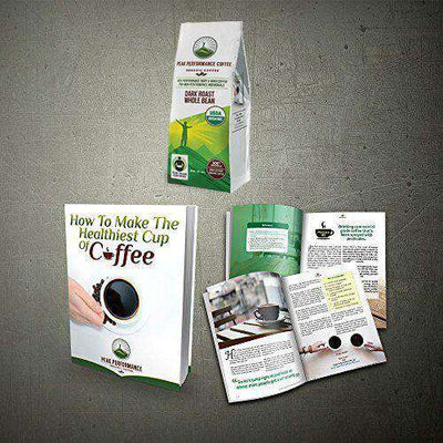 Coffee - Organic High Altitude Coffee (Dark Roast Whole Bean)