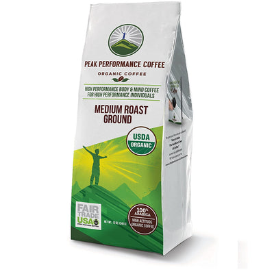 Coffee - Organic High Altitude Coffee (Medium Roast Ground)