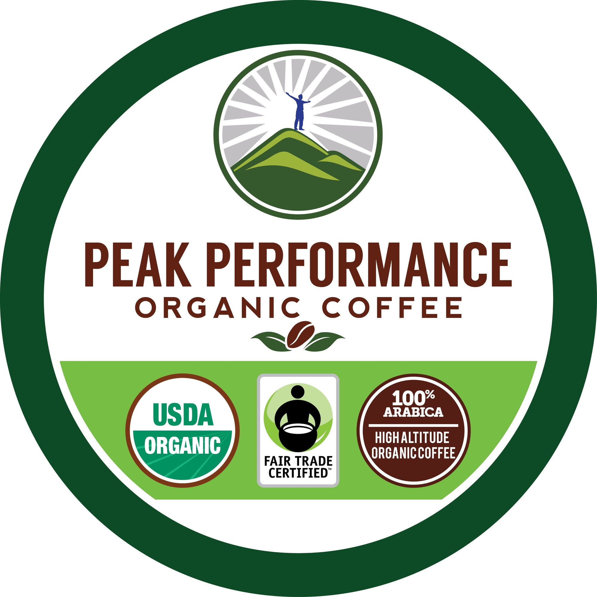 K-Cups - Organic K Cups - High Altitude Coffee (Medium Roast )