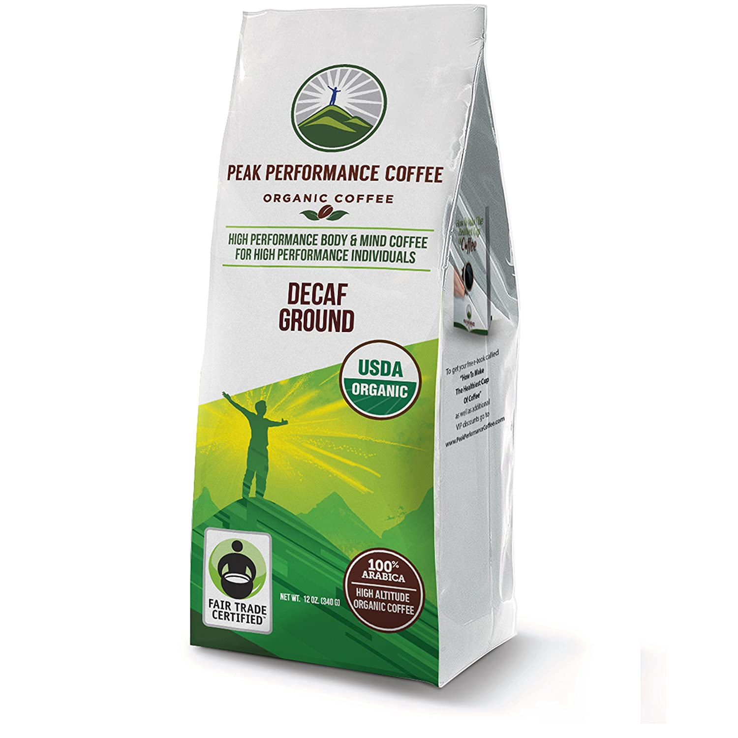Organic High Altitude Coffee (Decaf Ground)