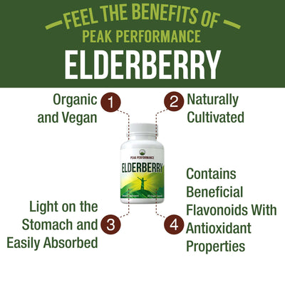 Supplement Capsules - Elderberry Capsules