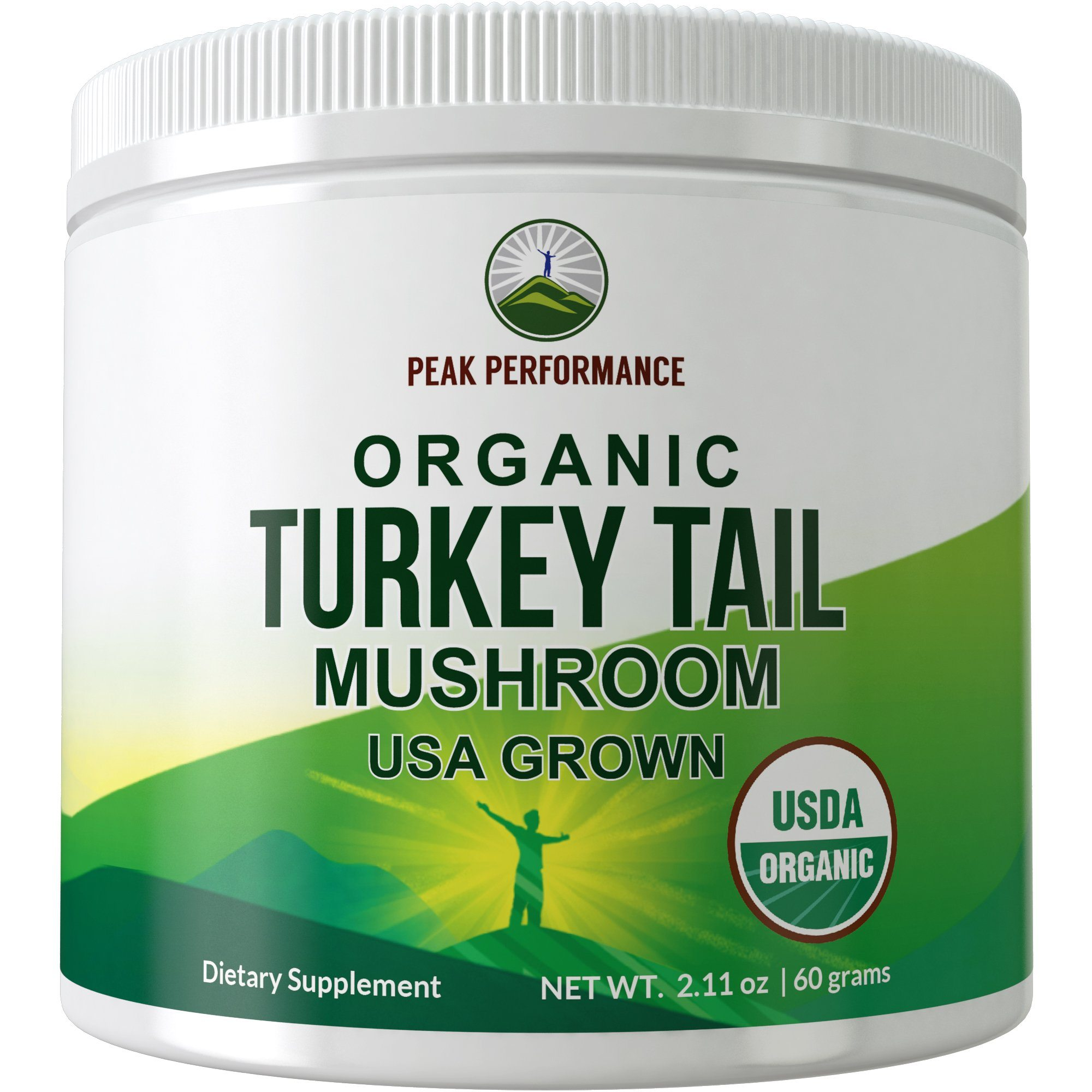 USDA Organic Turkey Tail Mushroom Powder (USA Grown)