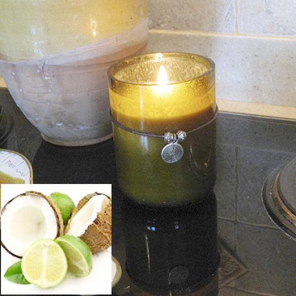 Candles, Coconut Lime Fragrance