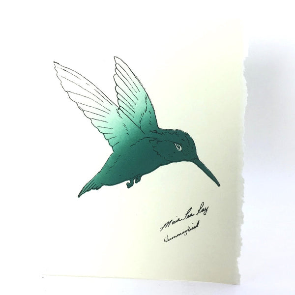 Cards, Hummingbird-5 cards per pack