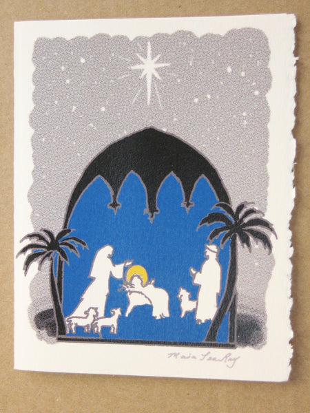 Cards, Xmas_Nativity Impression_5 cards per pack
