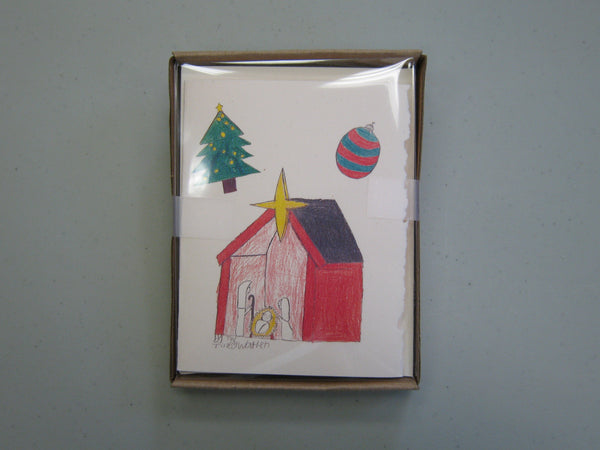 Cards, Xmas_ Nativity by TW