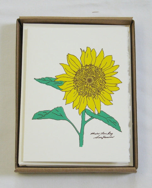 Cards, Sunflower