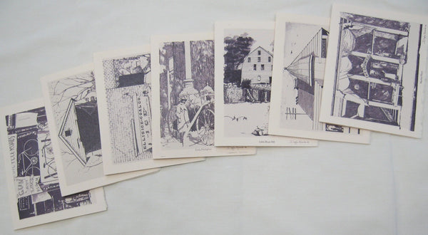 Cards, Old Hopkinsville Collection-seven cards