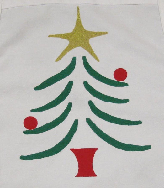Apparel, Aprons (Xmas Tree)