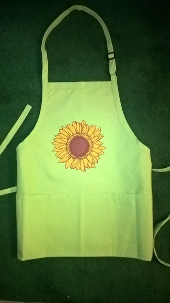 Apparel, Aprons (Sunflower)