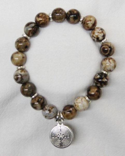 Brown Agate bracelets-medium