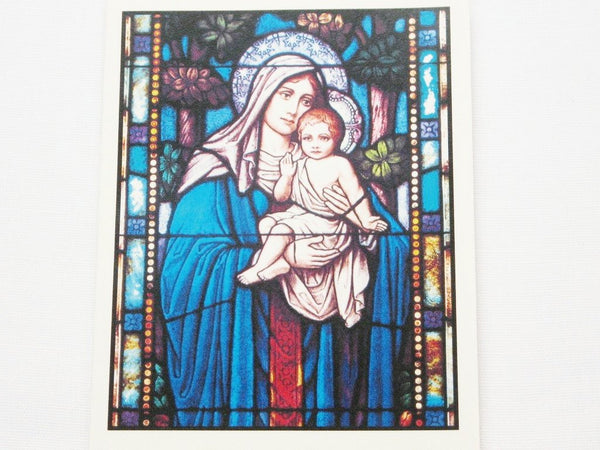 Cards, Church Stained Glass Window-6 cards per variety pack