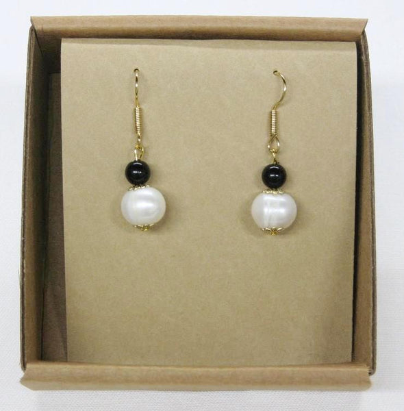 Earrings, Drop-bead