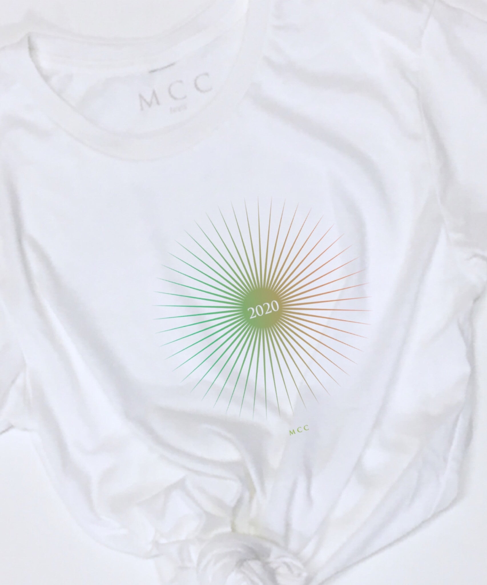 MCC Organic 2020 green future sunburst T