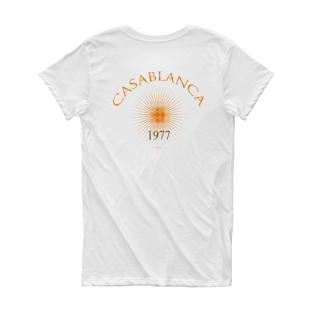 MCC Casablanca 1977 Short Sleeve Women's T-shirt
