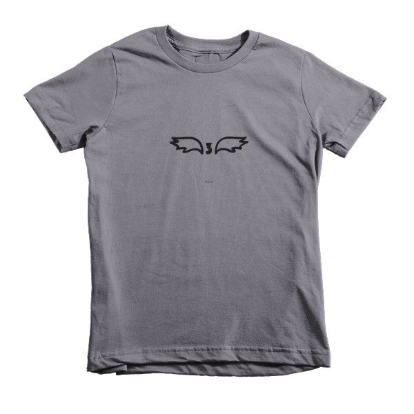 "MCC Milestone Tees ""3"" Short sleeve kids t-shirt"
