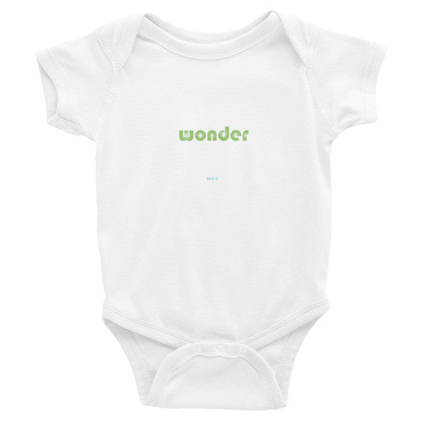 "MCC ""wonder"" Infant short sleeve one-piece"