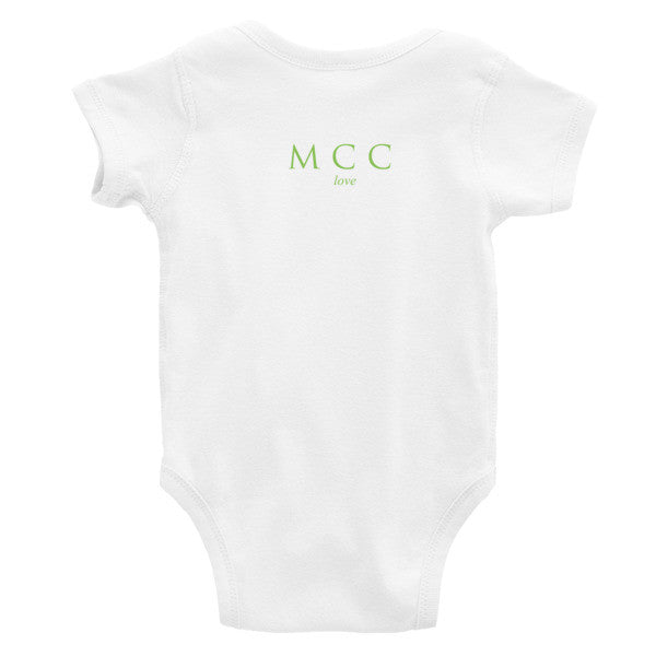 "MCC ""pure"" Infant short sleeve one-piece"