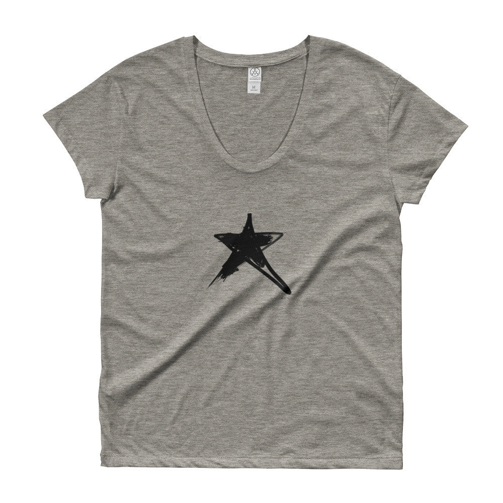 MCC Star Scoop Neck T