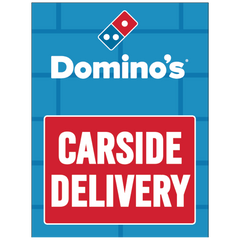 CARSIDE DELIVERY WINDOW CLINGS