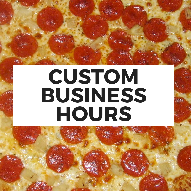 Custom Business Hours Graphics