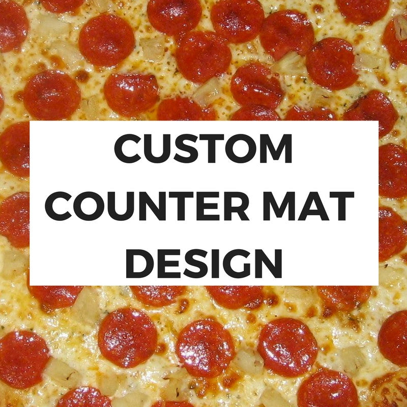 Custom Counter Mat Design