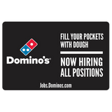 """Now Hiring All Positions"" Yard Sign"