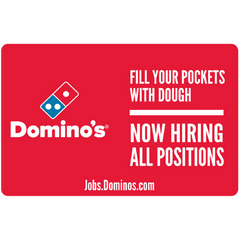 "10x15 ""Now Hiring All Positions"" Counter Mat 4-Pack"