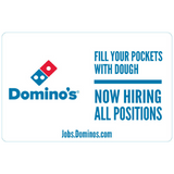 "12x18 ""Now Hiring All Positions"" Counter Mat 4-Pack"