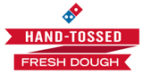 """Hand Tossed Fresh Dough"" Graphic"