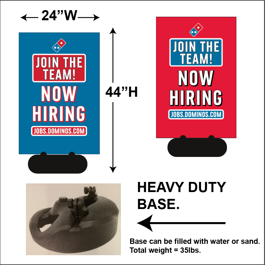 Join The Team! - Sidewalk Signs