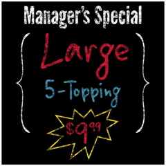 """Manager's Special"" Decal Lettering"
